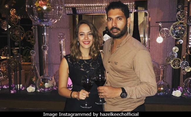 Image result for hazel keech and yuvraj