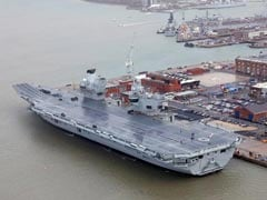 HMS Queen Elizabeth To Operate In Indian Ocean On 1st Voyage: UK Envoy