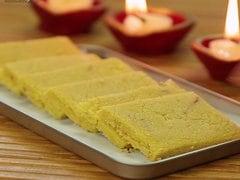 Homemade Kaju Ki Barfi
