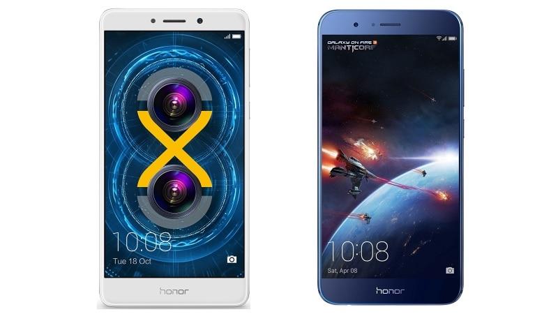 Honor 6X व Honor 8 Pro की कीमत में कटौती, Amazon पर सस्ते में उपलब्ध