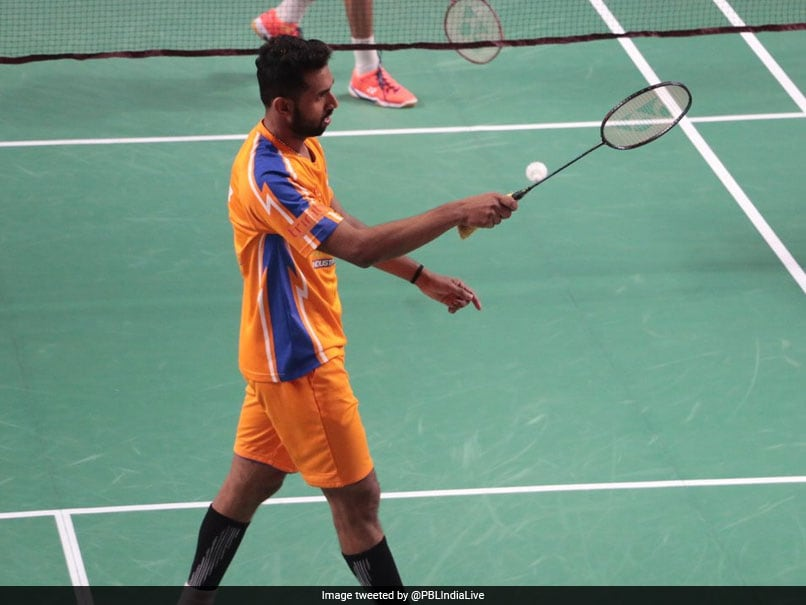 Premier Badminton League: HS Prannoy Stars As Ahmedabad Smash Masters Beat Hyderabad Hunters