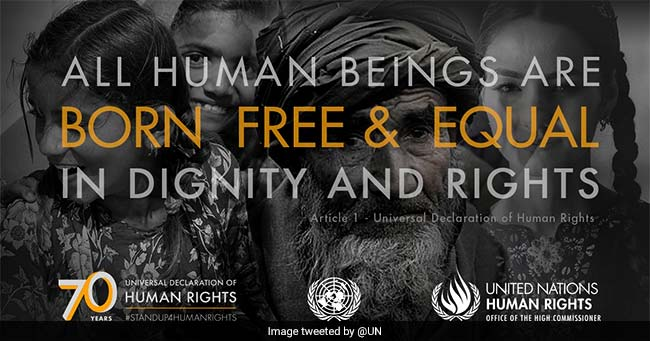 current status of the declaration for human rights Second: every human being is subject to live and let live the others jointly in the  world with common  35 universal declaration of human rights  enjoying  the status of international law, human rights, as contained in the charter of the.