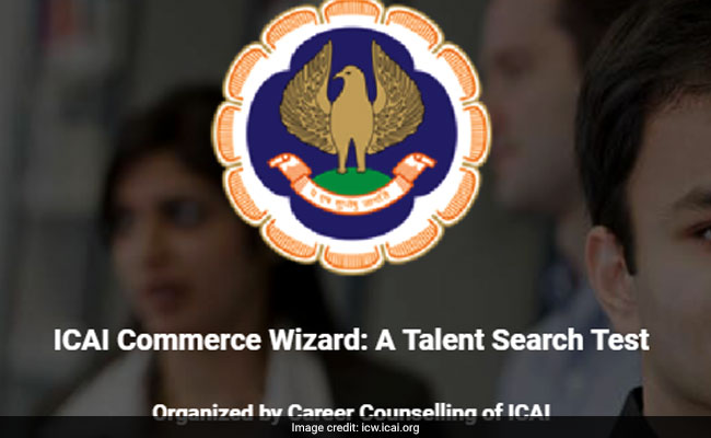 ICAI Announces Commerce Wizard 2017: Cash Prize Of Rs. 75000 For The Winner