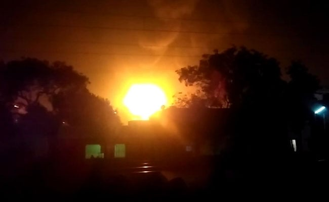 Panic At IISCO Steel Township In Asansol As Flames Leap Out Of Chimney