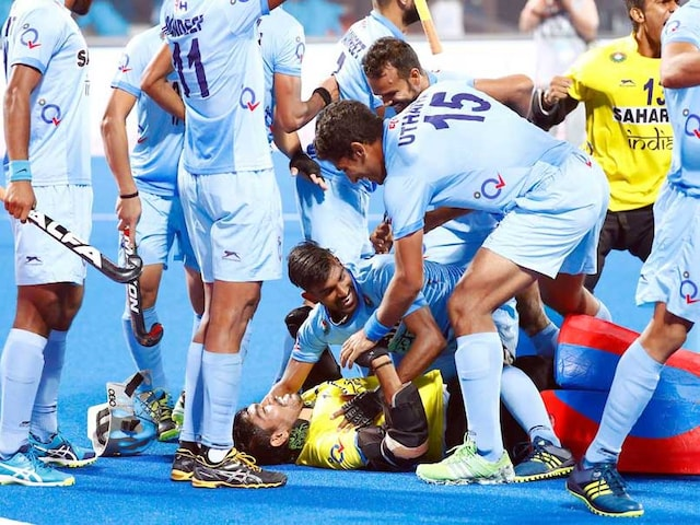 FIH Hockey World league Final: India Shock Olympic Silver Medallists Belgium To Reach Semis