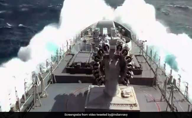 Navy Deploys 10 Ships, 8 Aircraft For Cyclone Ockhi Relief Work