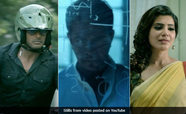 Irumbu Thirai Teaser: Ready For Vishal Vs Arjun? Samantha Akkineni Is Also There