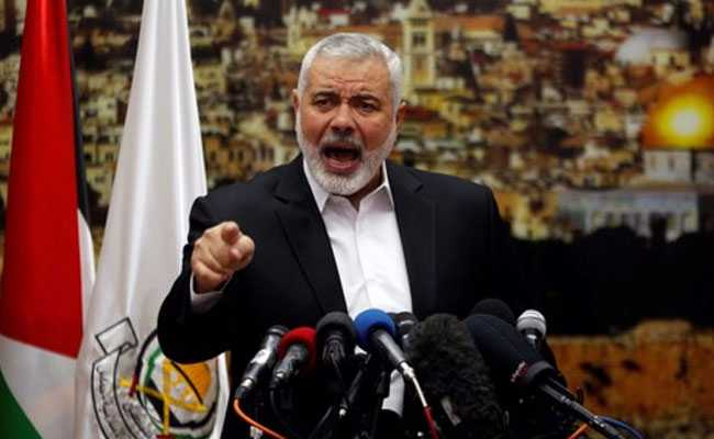 Hamas Calls For Palestinian Uprising Over Donald Trump's Jerusalem Plan