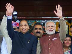Jai Ram Thakur Takes Oath As Himachal Pradesh Chief Minister, Team BJP Attends