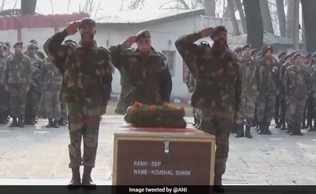 Body Of Soldier Missing In Jammu And Kashmir Avalanche Recovered