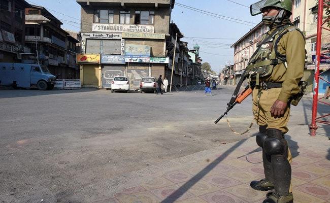 श्रीनगर में अलगाववादियों के विरोध प्रदर्शन को रोकने के लिए लगाया गया प्रतिबंध