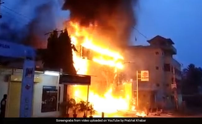35 Motorcycles, Including 16-Lakh Superbike, Gutted In Jamshedpur Fire