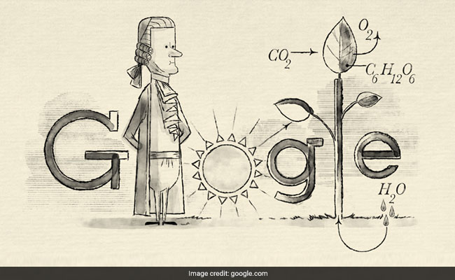 Google Doodle In UK Honours Jan Ingenhousz, The Man Who Discovered Photosynthesis