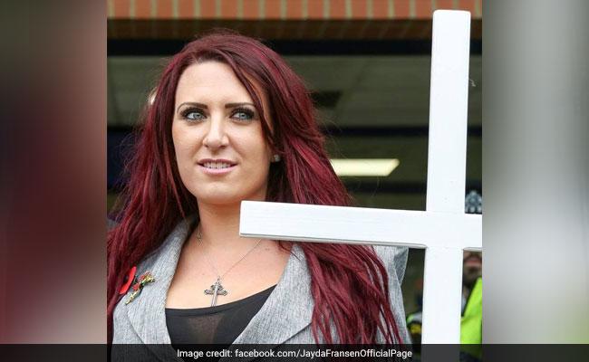 Britain First's Jayda Fransen re-arrested in Belfast
