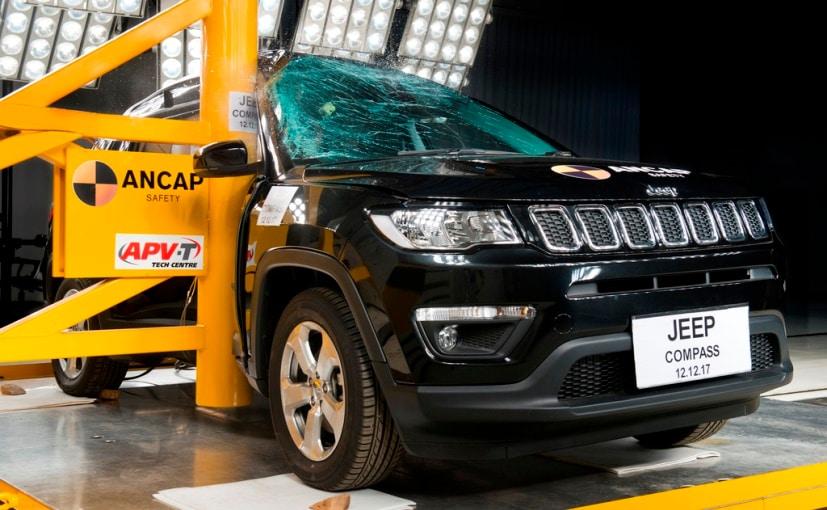 jeep compass ancap crash test