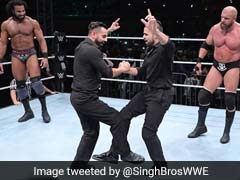 Triple H Does Bhangra With Jinder Mahal, Signs Off In Style