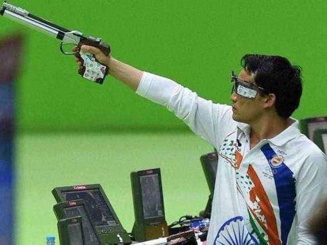 National Shooting Championship: Jitu Rai Shoots 50m Pistol Gold With Record Score