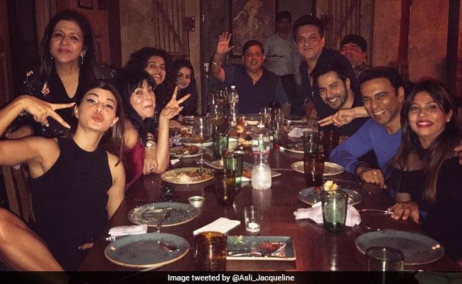 फिल्म 'जुड़वा 2' की सक्सेस के बाद कुछ इस तरह हुई पार्टी, ट्विटर पर डाली PHOTOS