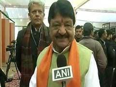 """Bengal BJP Chief, Kailash Vijayvargiya Charged For Holding """"Rally"""""""