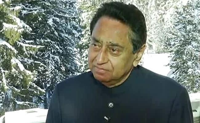 Cop Pointed Rifle At Congress Leader Kamal Nath's Plane In Madhya Pradesh, Suspended