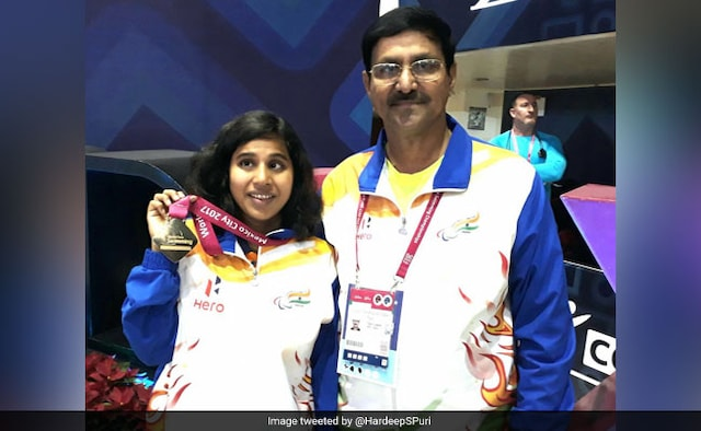 Kanchanmala Pandey becomes first Indian to win gold at World Para Swimming