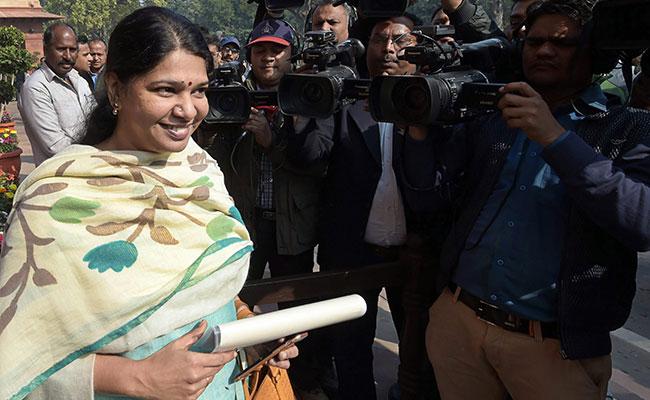 TDP Leaders Meet Kanimozhi For No-Confidence Motion Against PM Modi