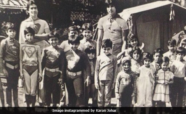 Karan Johar's New Throwback Pic Will Keep You Guessing All Weekend