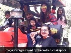 After Horseback, Taimur Rides With Saif Ali Khan And Kareena Kapoor In A...