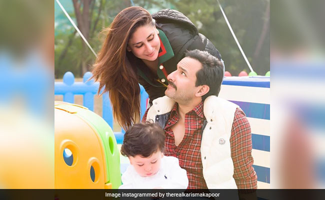 Inside Taimur's Birthday At Pataudi With Kareena Kapoor And Saif Ali Khan. Pics By Karisma