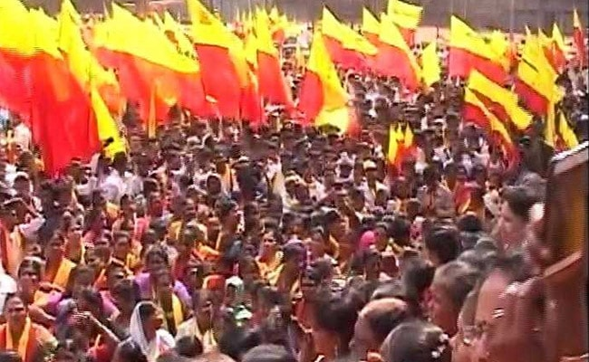 karnataka protest tv