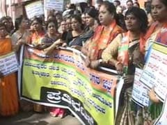 Protests In Bengaluru Over Schoolgirl's Rape Allegedly By Her Senior
