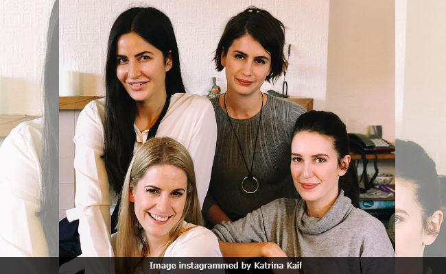Tiger Zinda Hai Releases But For Katrina Kaif Family Comes First