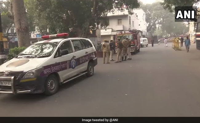 Security Tightened In Delhi's Khan Market After Bomb Scare