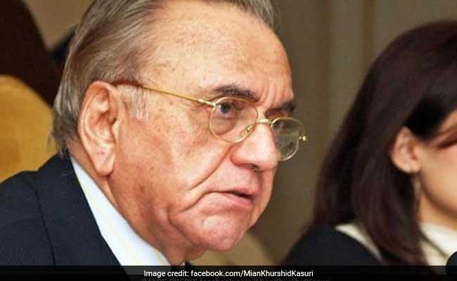 मणिशंकर अय्यर के घर डिनर में गुजरात शब्द तक का जिक्र नहीं : पाकिस्तान के पूर्व मंत्री खुर्शीद महमूद कसूरी