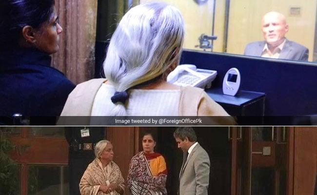 मुलाकात से पहले पाकिस्तान ने बदलवाए थे कुलभूषण जाधव की मां-पत्नी के कपड़े