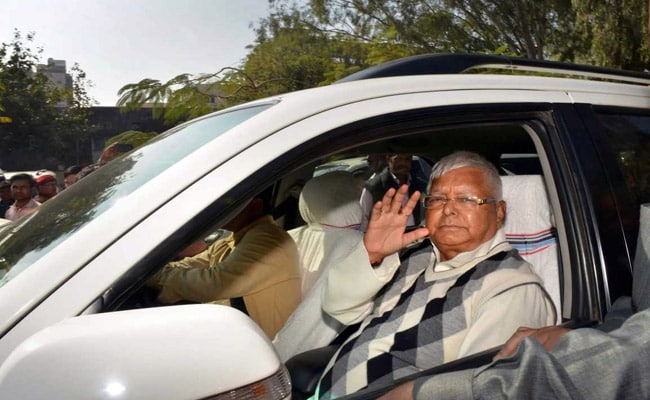 'Alliance Of Corruption': BJP Attacks Congress After Lalu Yadav Is Jailed