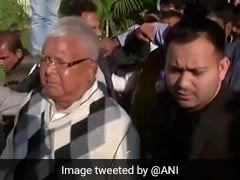 Tejashwi Yadav Meets Father Lalu Yadav For First Time After 2019 Poll Defeat