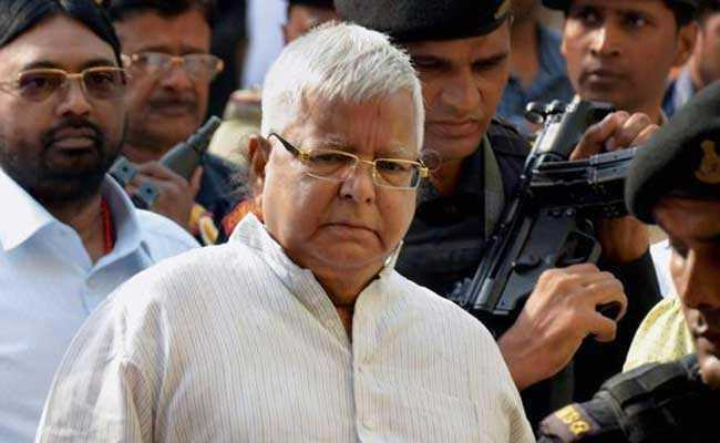 Crackdown On Lalu Yadav Act Of 'Vendetta' Feels JD(U) Leader, Party Miffed