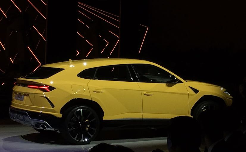 lamborghini urus performance suv breaks the cover \u2013 tech2lamborghini urus