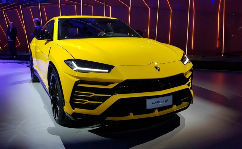The Lamborghini Urus was showcased on December 4, 2017