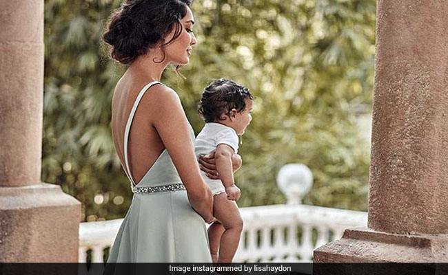 lisa haydon lost weight after pregnancy