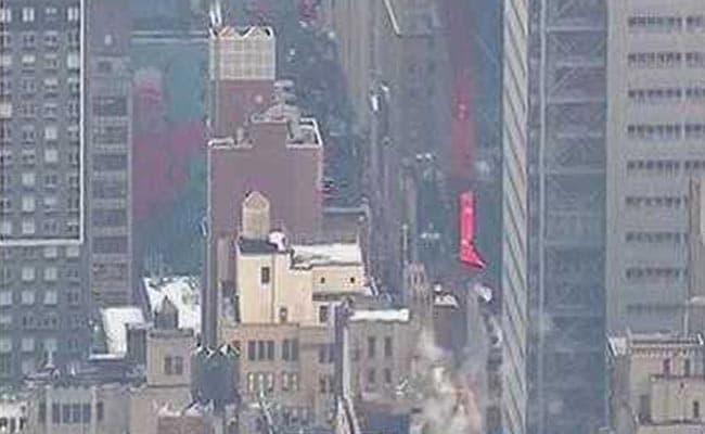 न्यूयॉर्क के मैनहेटन में धमाका, एक शख्स को हिरासत में लिया गया