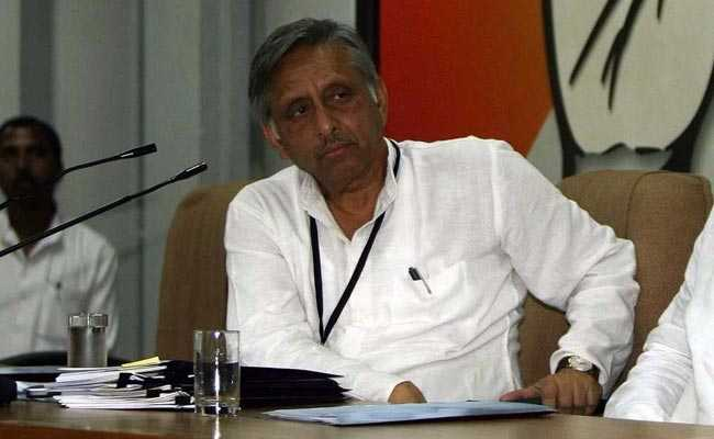 Mani Shankar Aiyar's Suspension Revoked By Congress