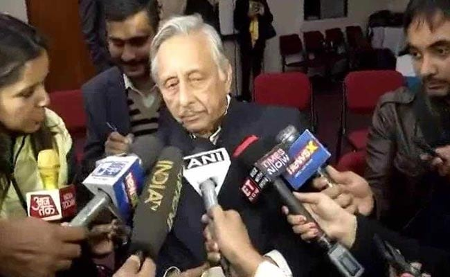After Rahul Gandhi Rebuke, Congress Suspends Mani Shankar Aiyar Over 'Neech' Remark