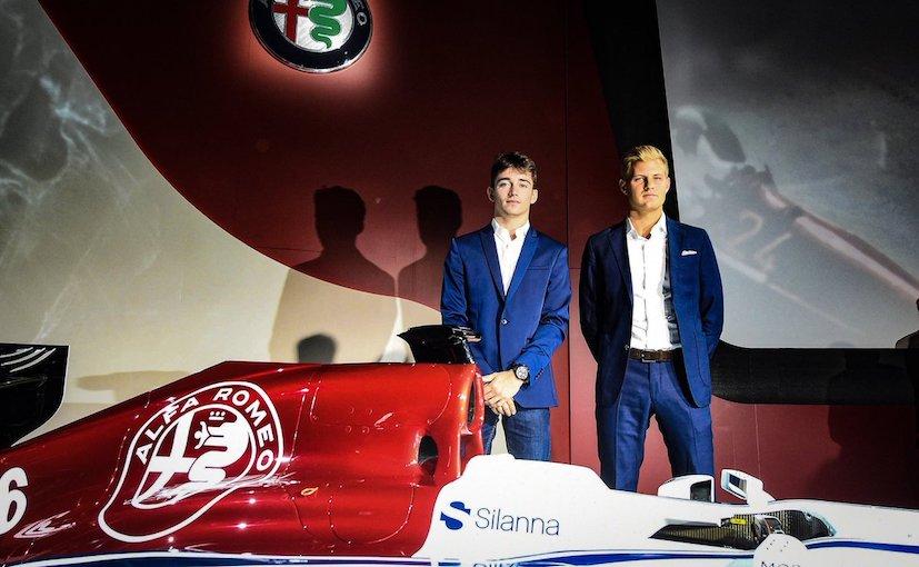 Alfa Romeo Sauber F1 team reveals 2018 livery