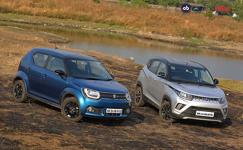 Maruti Suzuki Ignis vs Mahindra KUV100 NXT: Comparison Review