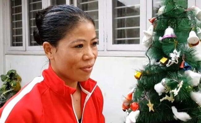 NDTV Exclusive : क्रिसमस से ज़्यादा ट्रेनिंग पर है ज़ोर - मैरीकॉम