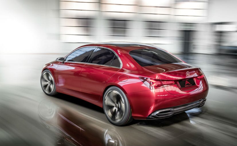 Mercedes-Benz A-Class Sedan appeals to 'younger people'