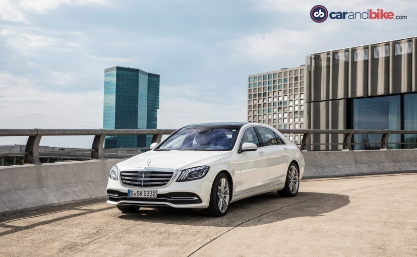 The S-Class facelift will be Mercedes-Benz India's first launch of 2018