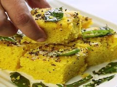 Low Calorie Microwave Dhokla